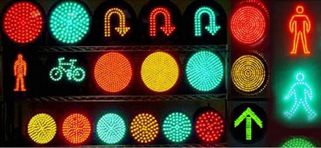 Các loại đèn tín hiệu giao thông đường bộ