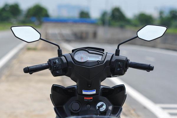 Cách lắp gương chiếu hậu xe máy