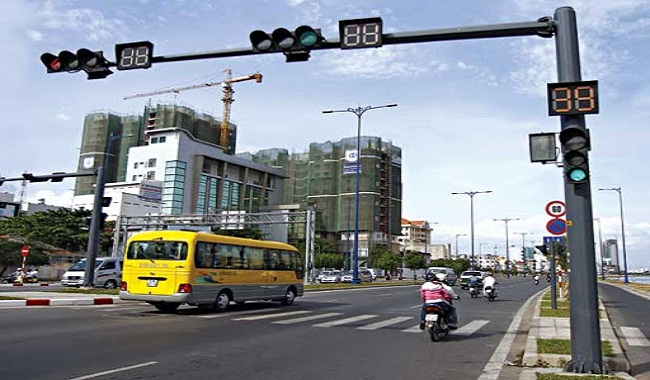 Đèn giao thông tại TPHCM