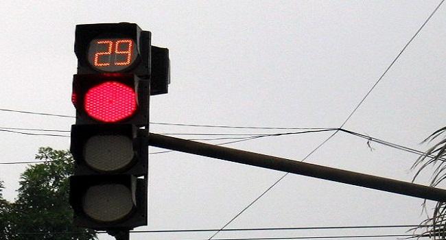 Đèn giao thông thời gian