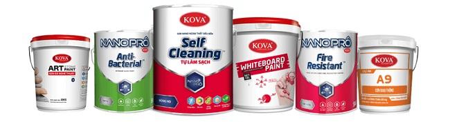 Giá bán sơn Kova