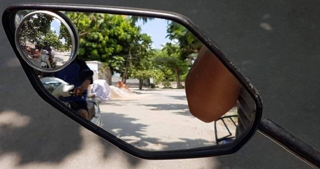 Cách lắp đặt gương cầu lồi cho xe máy