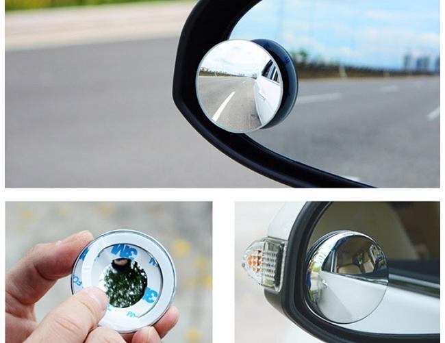 Lưu ý khi sử dụng gương cầu lồi ô tô