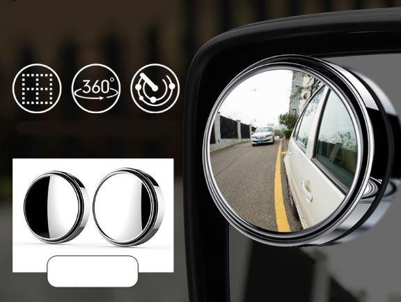 Lưu ý khi sử dụng gương cầu lồi xóa điểm mù ô tô