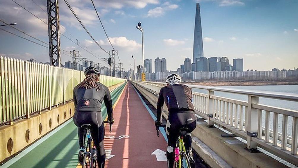 Quy định lan can đường xe đạp