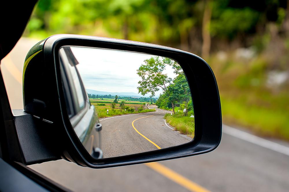 Quy định về gương chiếu hậu ô tô