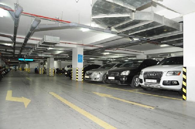 Tiêu chuẩn bãi đỗ xe chung cư