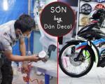 Nên sơn hay dán decal cho xe máy?