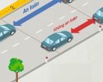 Quy định khoảng cách an toàn giữa 2 xe khi tham gia giao thông
