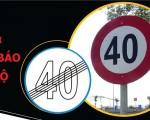 Các loại biển báo tốc độ giao thông và mức xử phạt