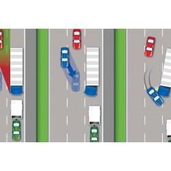 Những cách khắc phục điểm mù trên xe ô tô