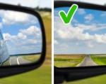 Cách chỉnh gương chiếu hậu xe ô tô đúng chuẩn