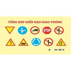 Tổng hợp các loại biển báo giao thông đường bộ