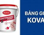 Báo giá sơn Kova