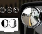 Những lưu ý khi sử dụng gương cầu lồi xóa điểm mù ô tô
