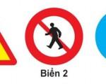 Các loại biển báo giao thông dành cho người đi bộ